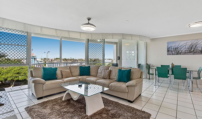Sailport Mooloolaba One Bedroom Rooftop Apartment