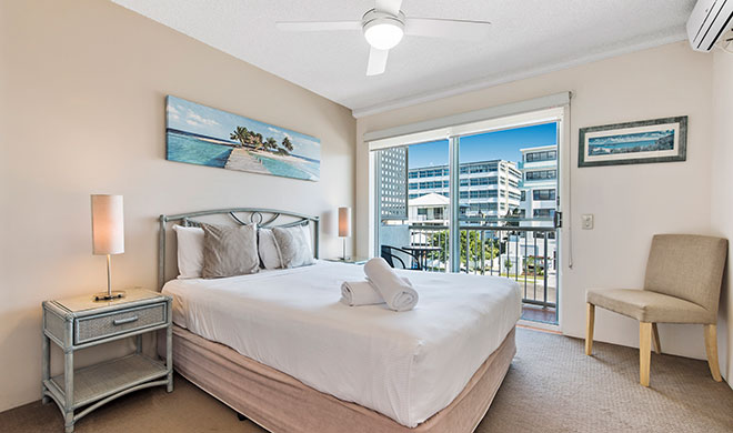 Sailport Mooloolaba One Bedroom Standard Apartments
