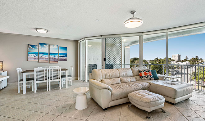 Sailport Mooloolaba Two Bedroom Rooftop Apartment
