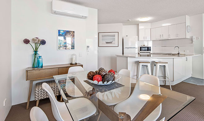 Sailport Mooloolaba Two Bedroom Standard Apartments