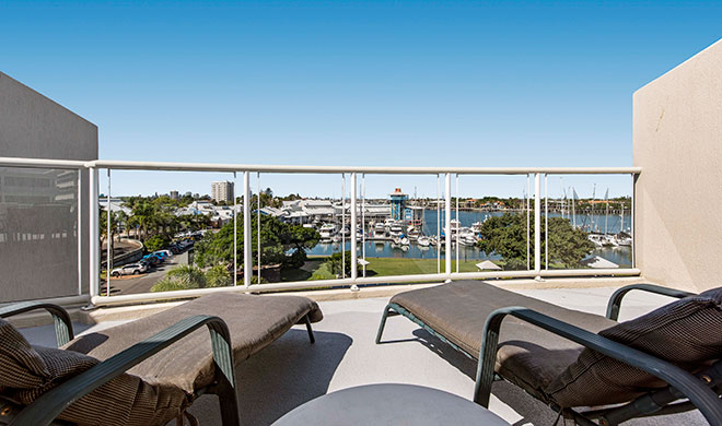 Sailport Mooloolaba Three Bedroom Rooftop Apartment