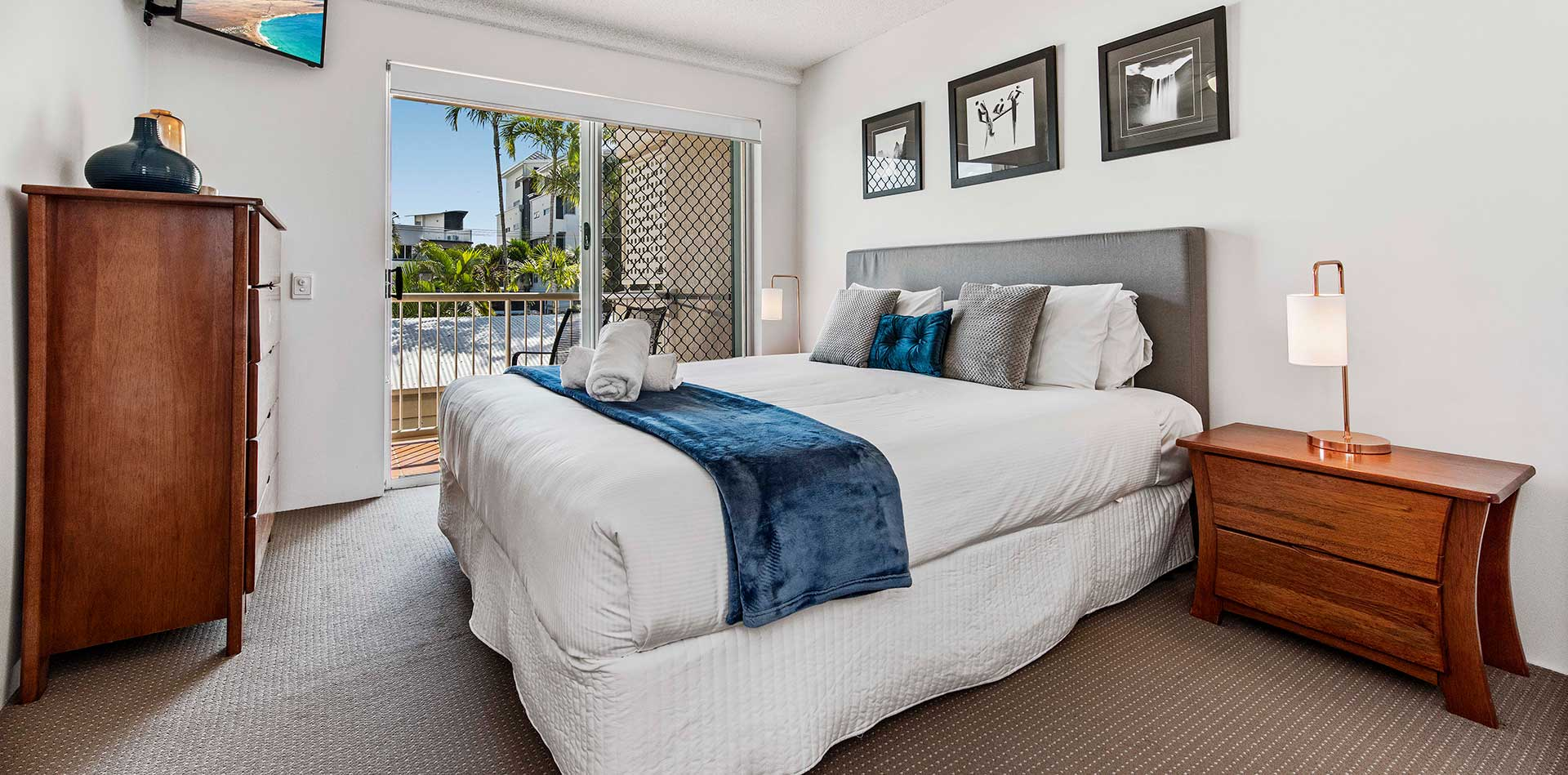 Two Bedroom Standard Apartments   Sailport Mooloolaba ...